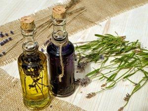 Huile olives et lavande