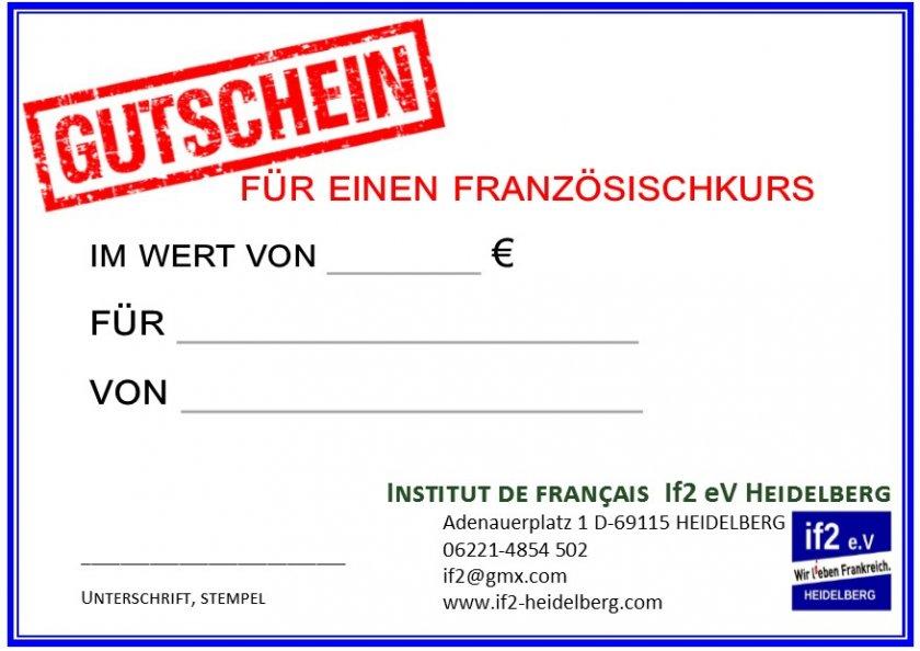 if2-Geschenk-Gutschein